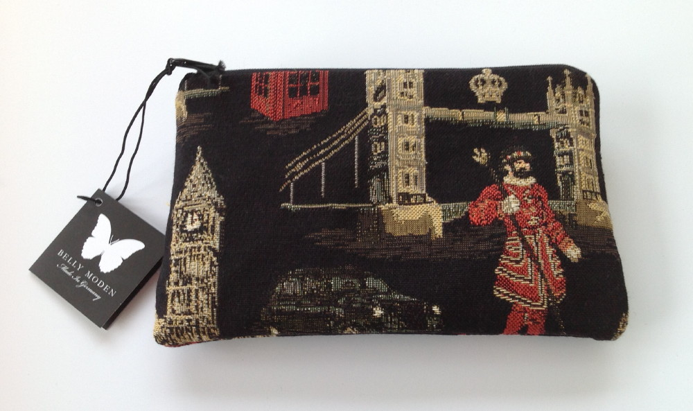 Belly Moden London Night Design Zipped Cosmetic Purse