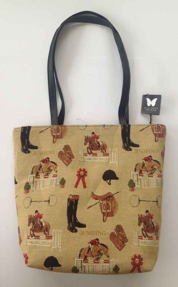 Belly Moden Jumping Design Shopper Bag
