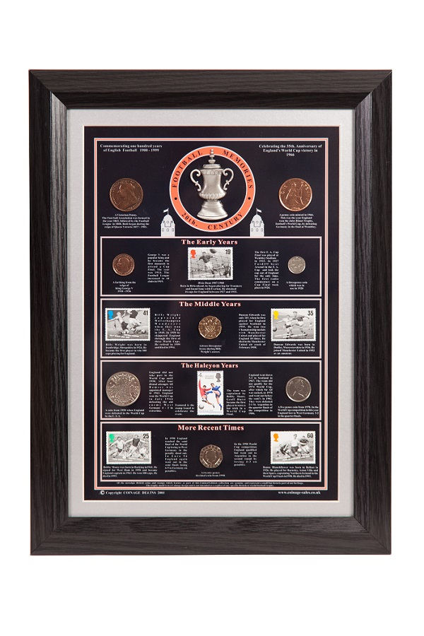 20th Century Football Memories with Black Frame