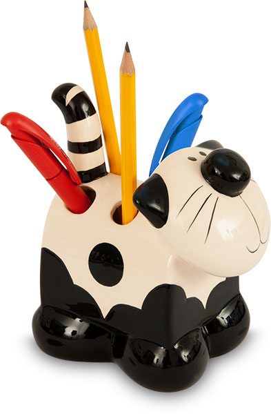 2Kewt Ceramic Pen and Pencil Holder