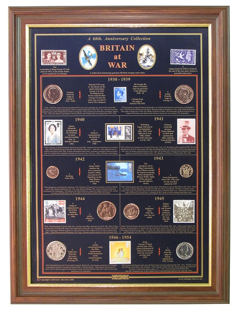 Britain at War 60th Anniversary with Luxury Frame