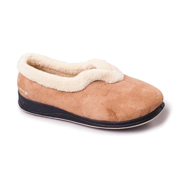 Carmen Womens Slippers - Camel