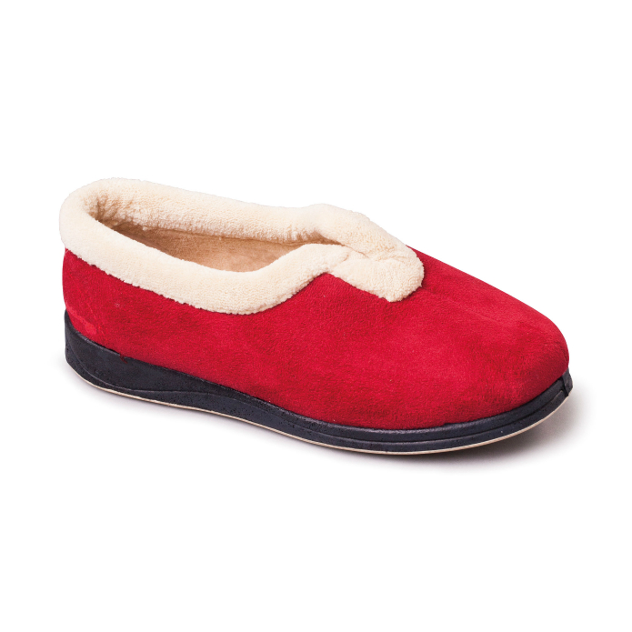 Carmen Womens Slippers - Red