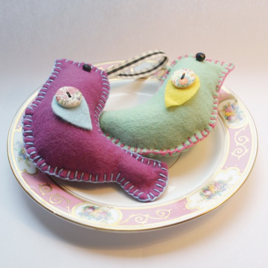 'Little Birdies' Sewing Kit