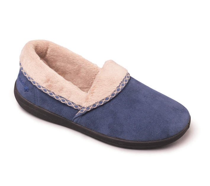 Mellow Womens Slippers - Denim Blue