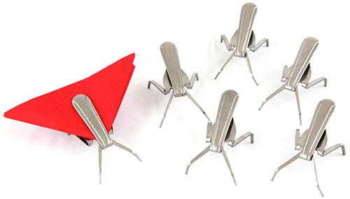 Fork Napkin Bugs - Set of 6