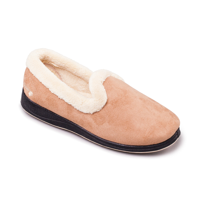 Repose Womens Slippers - Camel