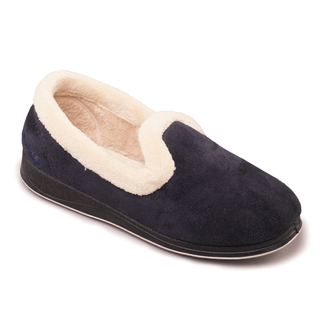Repose Womens Slippers - Navy