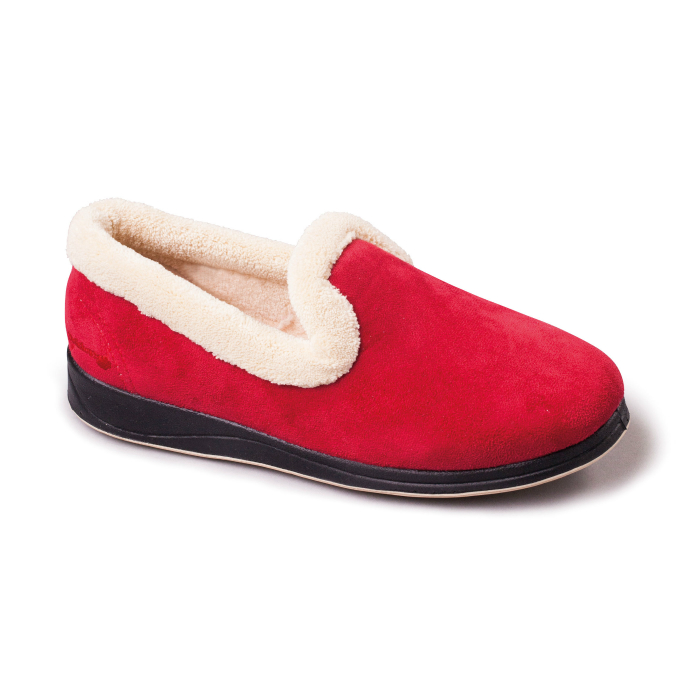 Repose Womens Slippers - Red
