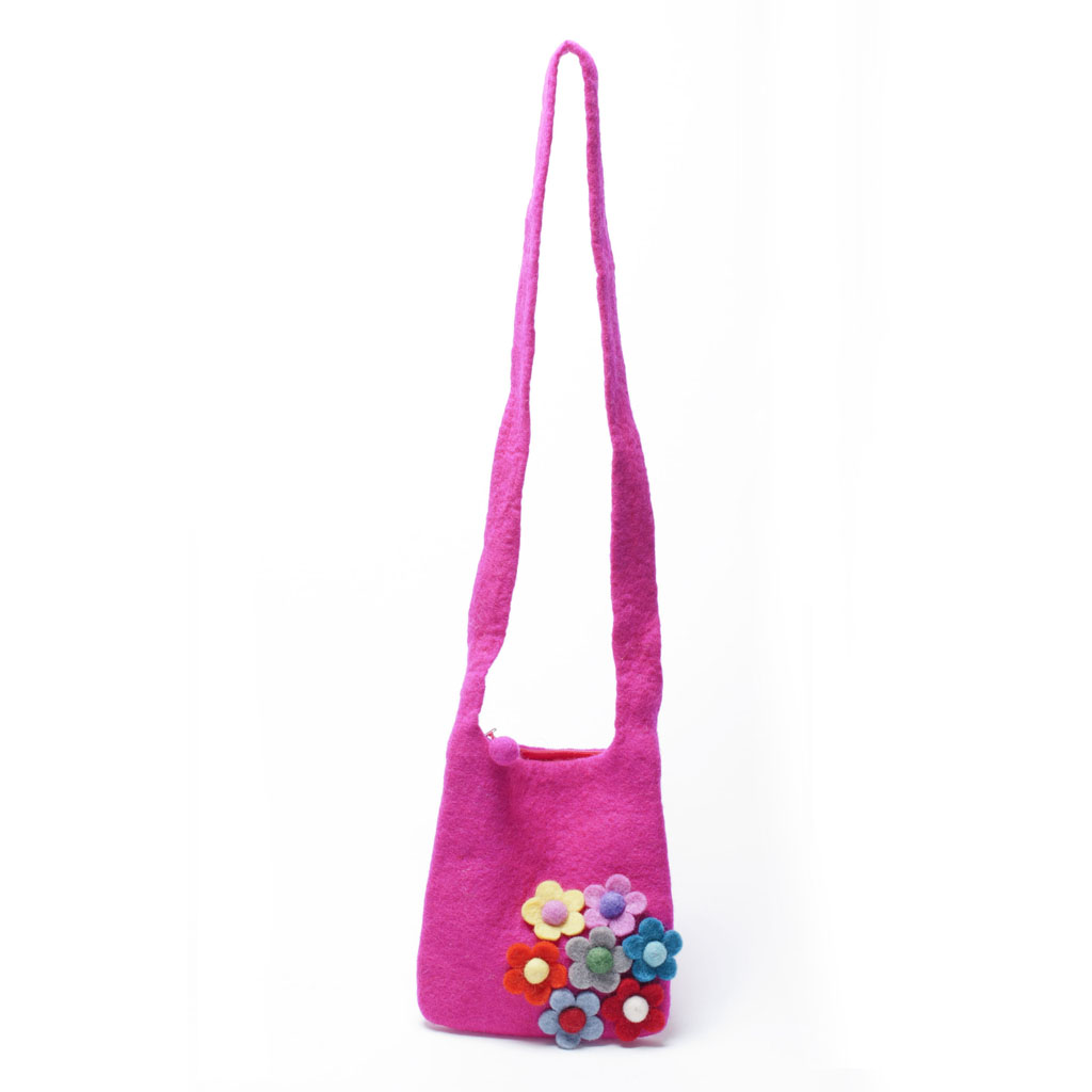 Secret Garden Girls Bag - Pink
