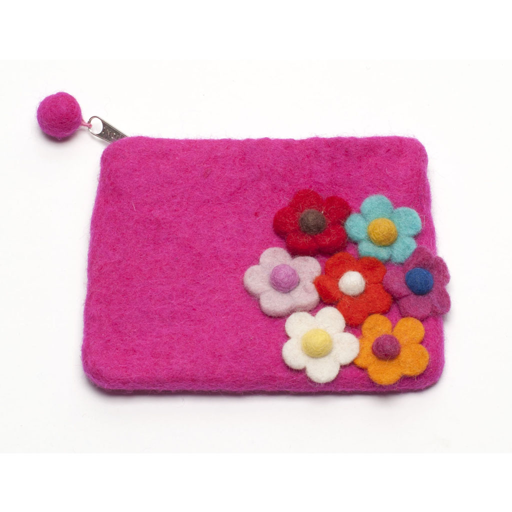 Secret Garden Girls Purse - Pink
