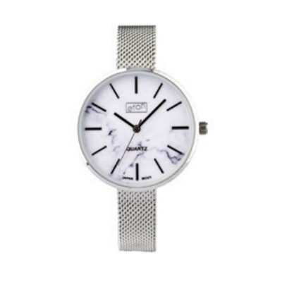 Eton Ladies Mesh Bracelet Marble Finish Dial Wrist Watch