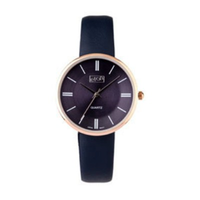 Eton Wrist Watch with Navy PU Strap and Matching Dial