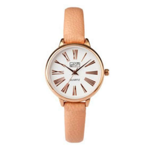 Eton Rose Gold Tone Case Modern Roman Figures Dial Wrist Watch