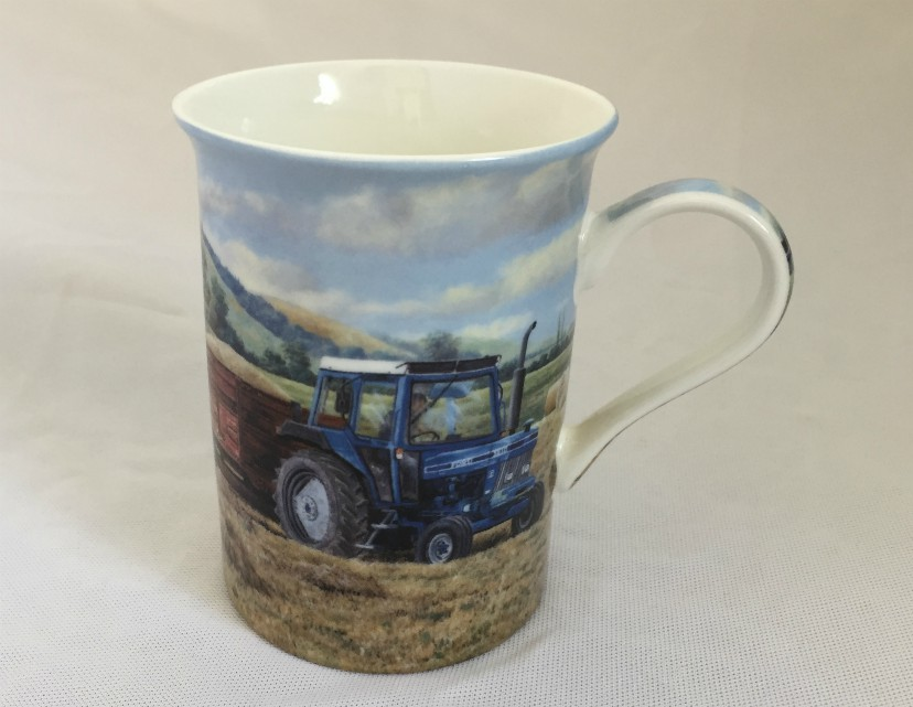 Ford Tractor Fine Bone China Mug