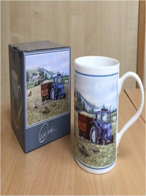 Ford Tractor Working Mug
