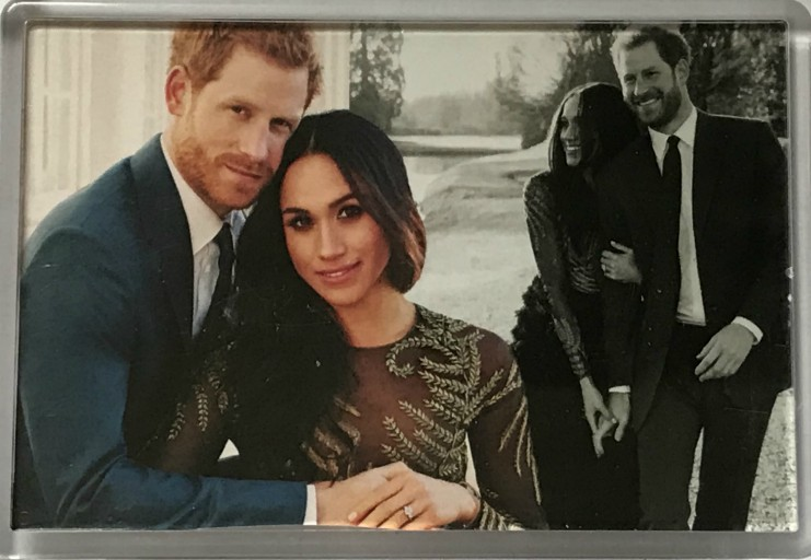 Harry and Meghan Casual Photo Fridge Magnet
