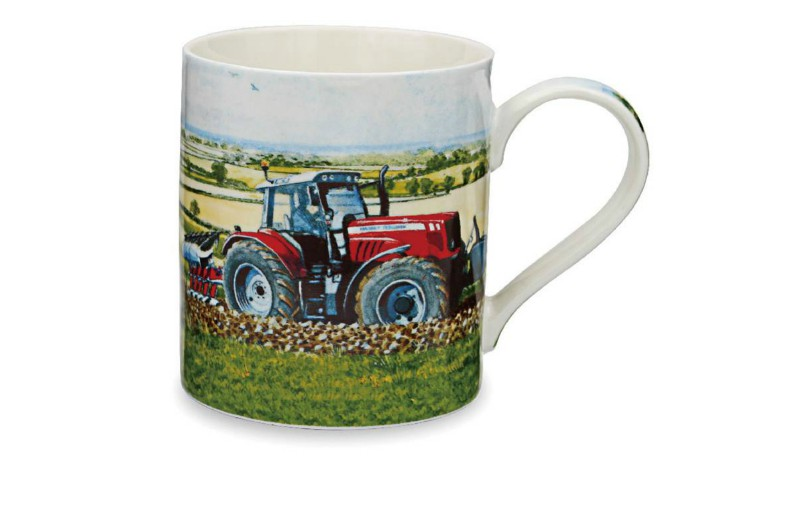 Massey Ferguson Tractor Working Mug