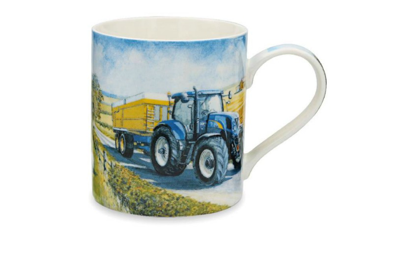 New Holland Tractor and Trailer Mug
