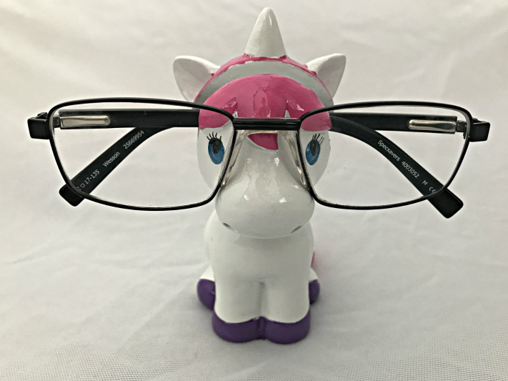 Piggy Bank Unicorn Eye Glass Holder