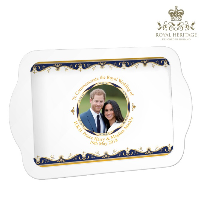 Royal Wedding Prince Harry and Meghan Markle Snack Tray